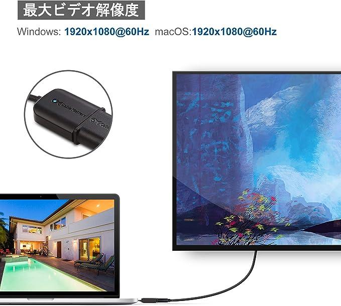 Thunderbolt 3 Ports Compatible pour MacBook Pro Dell XPS 13//15 C/âble USB-C vers VGA Noir 6 Pieds HP Spectre x360 Cable Matters C/âble USB C vers VGA Lenovo Yoga 910 et Plus Surface Book 2