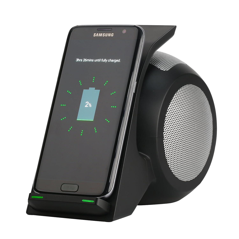 Amazon.com: Rápido Cargador Inalámbrico Con Altavoz ...