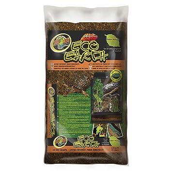 Zoo Med Eco - Tiera sustrato para reptiles / Anfibios, 23 L: Amazon.es: Productos para mascotas