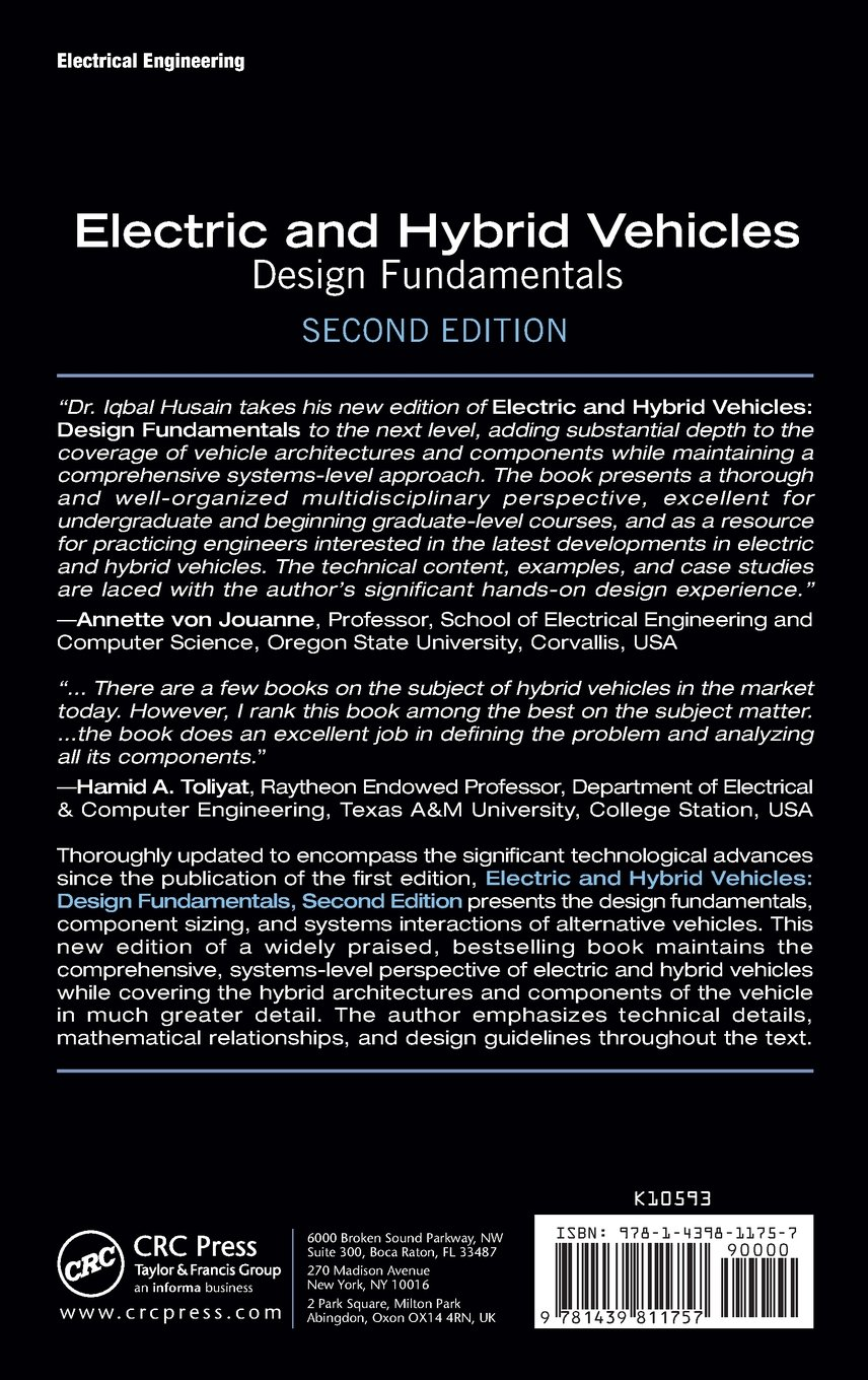 Buy electric and hybrid vehicles design fundamentals second buy electric and hybrid vehicles design fundamentals second edition book online at low prices in india electric and hybrid vehicles design fundamentals fandeluxe Gallery
