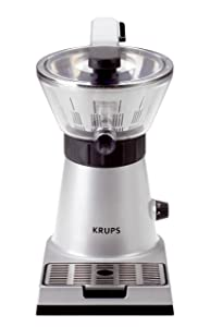KRUPS ZX7000 Stainless Steel Electric Citrus Press
