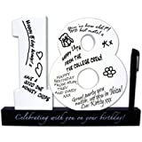 18th Birthday Signature Numbers Christmas Xmas Holiday Present