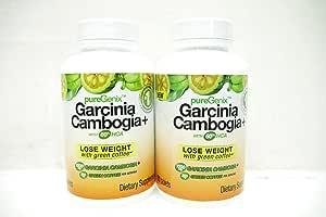 PureGenix Garcinia Cambogia+ Dietary Supplement - 60 Tablets (Pack 2)