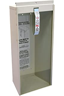 Amazoncom Kidde Potter Roemer SemiRecessed Pound Fire - Semi recessed fire extinguisher cabinet