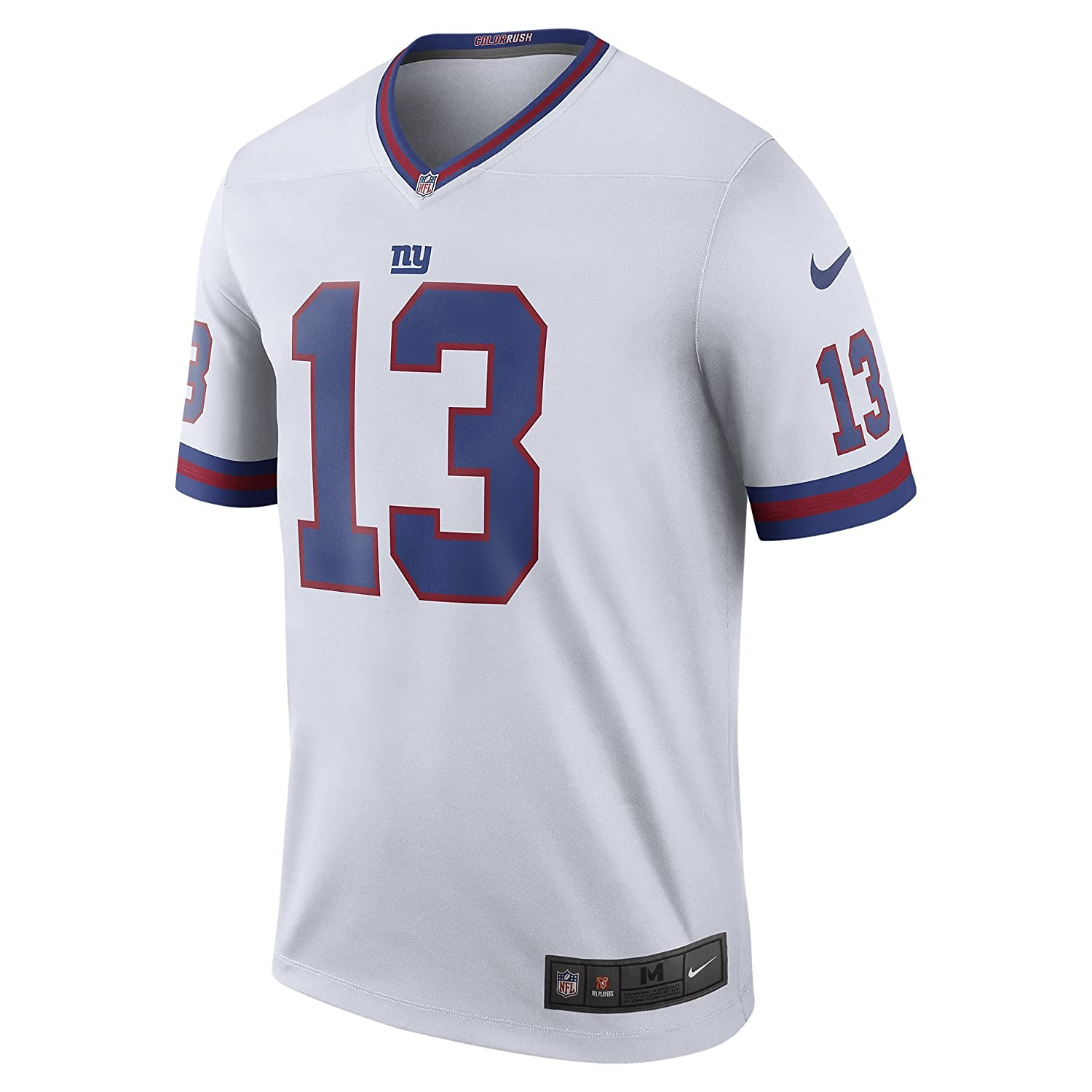 382214c7b Amazon.com  Nike Odell Beckham Jr York Giants Color Rush White Legend  Dri-FIT Jersey - Men s XL (X-Large)  Clothing