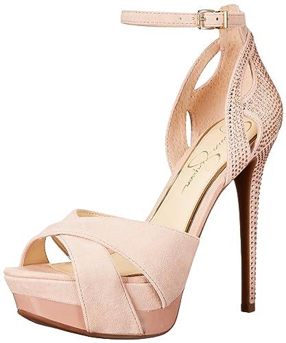 dbe7ad0d277 Jessica Simpson Women s Wendah Platform Pump  Buy Online at Low ...