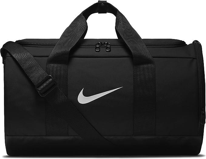 Amazon.com: Nike Team - Bolsa de deporte para mujer, Negro ...