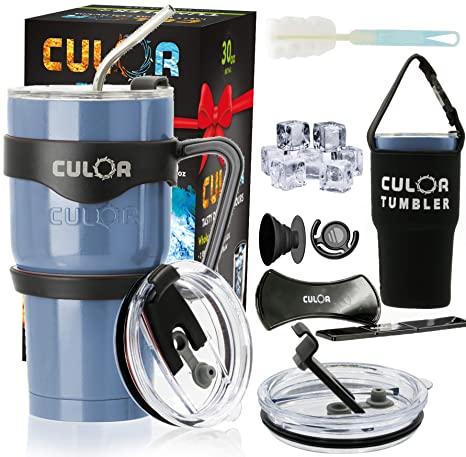 Amazon.com: La mejor jarra de acero inoxidable CULOR, con ...