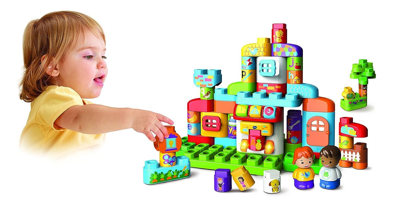 V Tech Ma Maison Alphabet Interactive Bla-Bla-Blocks