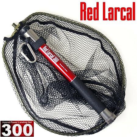 ランディングシャフト&ネットセットRedLarcal(レッドラーカル)300+ランディングネットS黒(オーバールフレーム)(190141-bk)の画像
