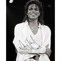 Michael Jackson # 110x 8Lab Qualität unterzeichnet Foto Print