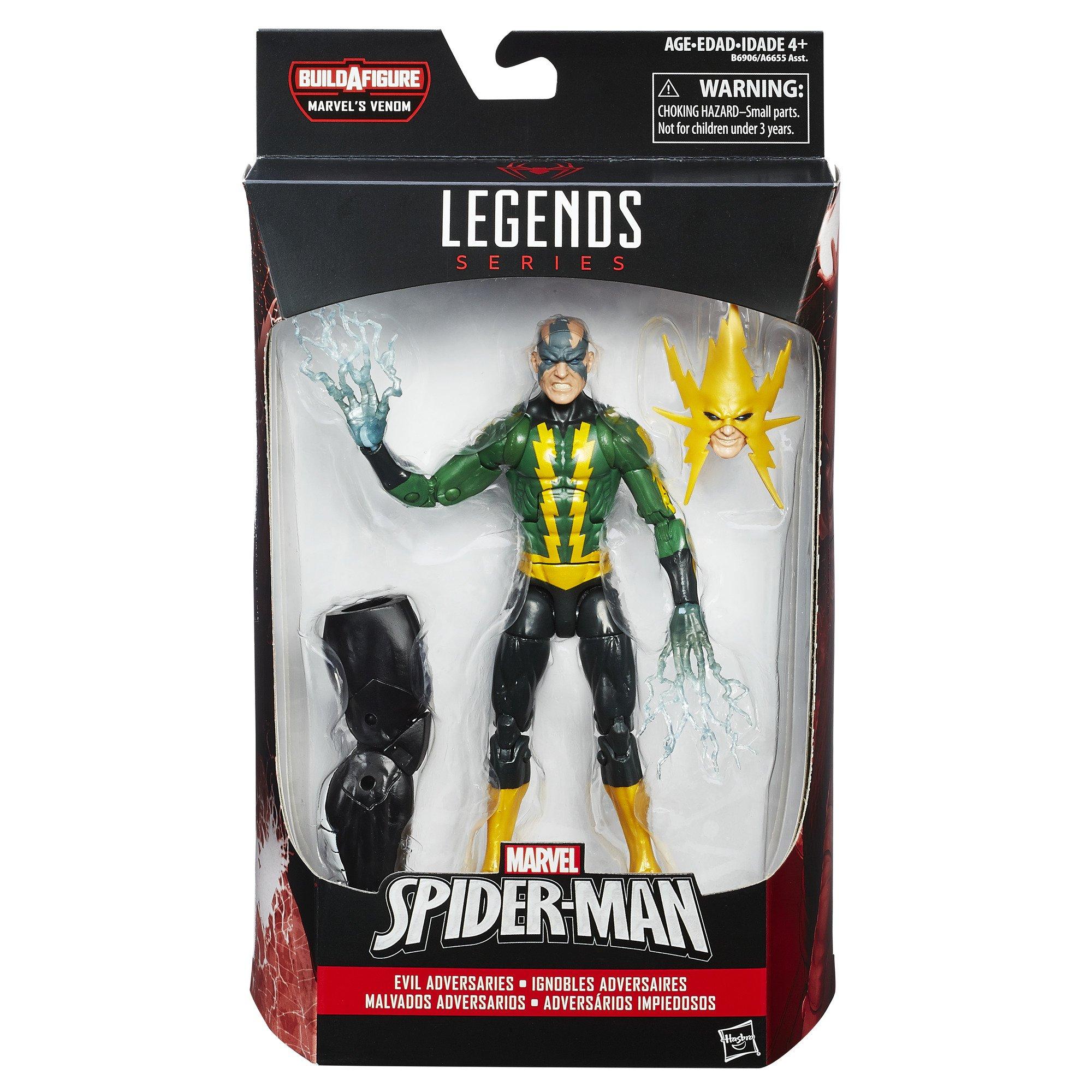 Marvel Spider-Man 6-inch Legends Series Evil Adversaries: Marvel's Electro by Marvel  (Image #2)