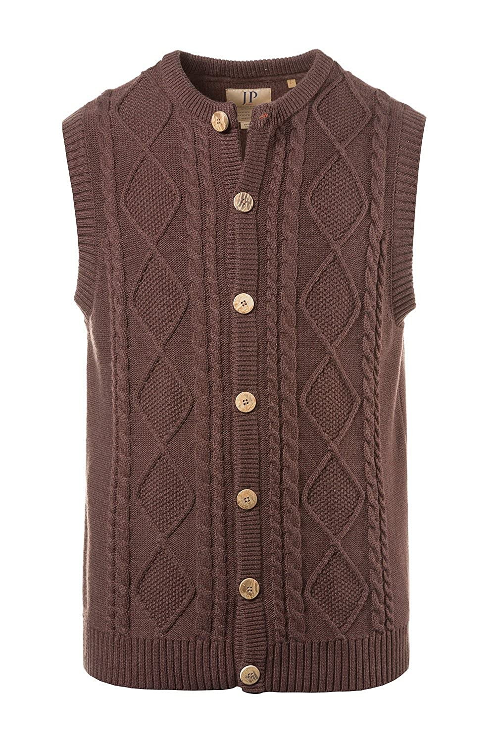 JP 1880 Men's Big & Tall Traditional Sweater Vest 705588