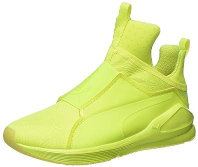 Neueste PUMA Fierce Bright Mesh Damen Schuhe Gelb, PUMA