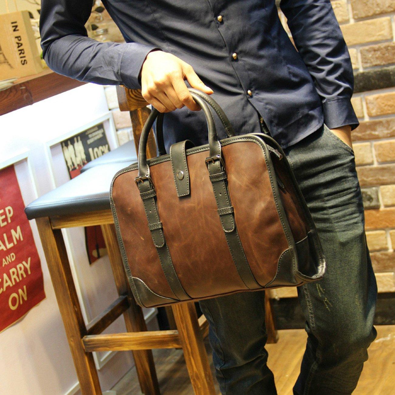 Tidog New mens fashion handbag bag business bag briefcase men bag