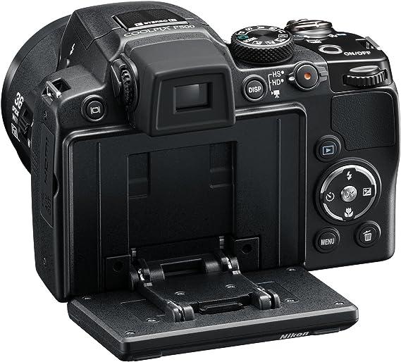 Nikon Coolpix P500 - Cámara Digital Compacta 12.1 MP (3 Pulgadas ...
