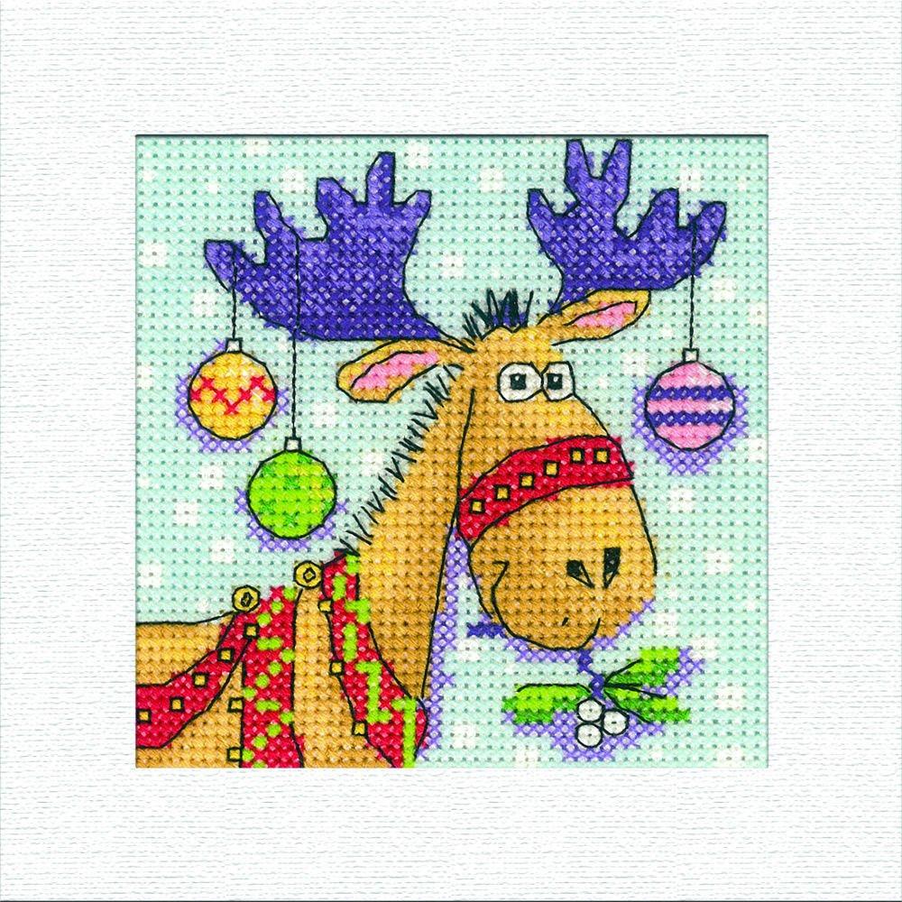 Giraffes Cross Stitch Kit by Heritage