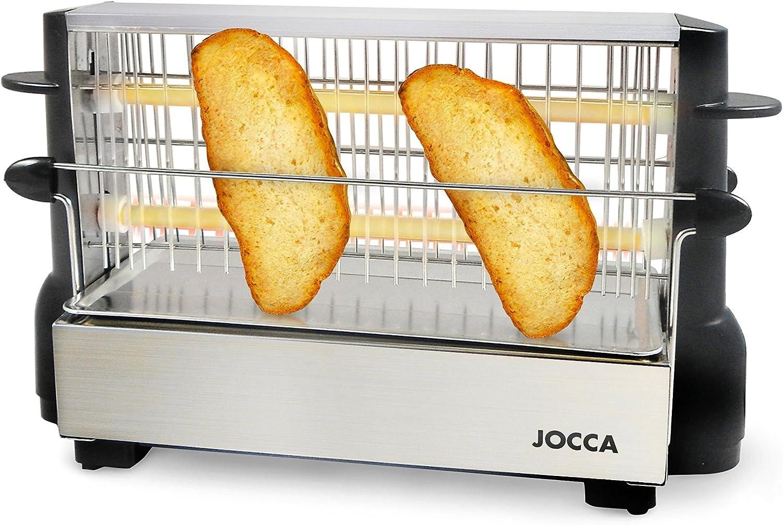 Jocca 5918 Tostador vertical, color plata, 500 W: Amazon.es ...