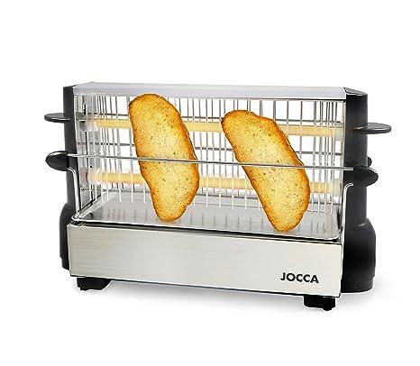 Jocca 5918 Tostador Vertical, Color Plata, 500 W