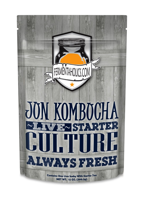 Jun Kombucha Starter Pack (SCOBY + Starter Tea) Fermentaholics COMINHKPR127962