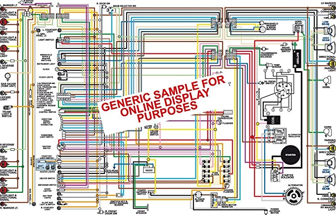 Amazon 1972 Oldsmobile Cutlass F 85 11 X 17 Color Wiring Diagram All Models Automotive: 1956 Oldsmobile Wiring Diagram At Mazhai.net