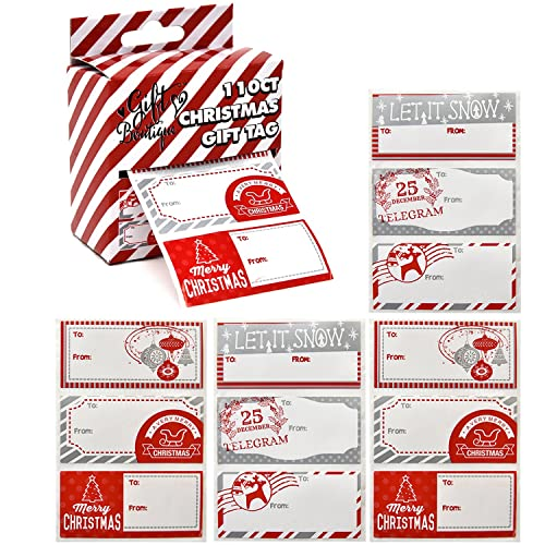 large christmas gift tags amazon com