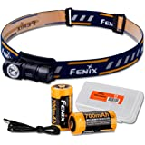 Fenix HM50R 500 Lumens Multi-Purpose Compact LED Headlamp Flashlight, Rechargeable Battery Plus Additional Rechargeable…