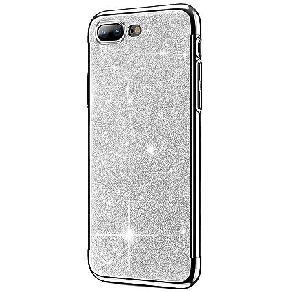 Felfy Compatible iPhone 8 Plus Funda,Plating TPU iPhone 7 ...