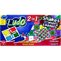 Sterling The Classic Children Ludo Board Game Set (2 in 1) - Snakes and Ladders Carton