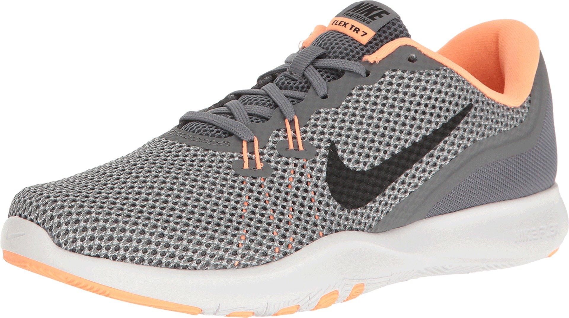 best sneakers 7c85b dc7ef Galleon - NIKE Women s Flex 7 Cross Training Shoe, Cool Grey Black ...