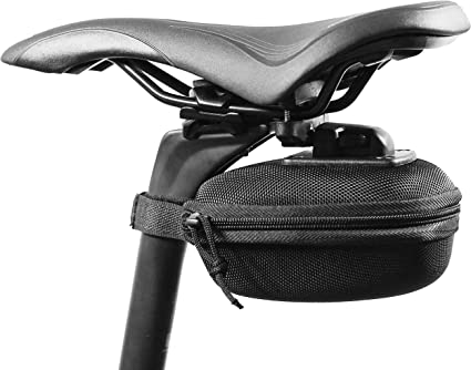 New Cycling Bike Expandable Bicycle Seat Rear Saddle Bag Quick Release Silver