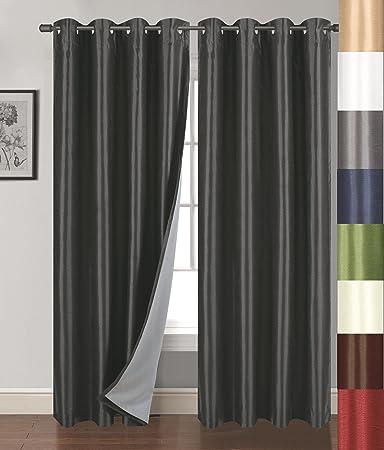 Amazon.com: Siena Home Fashions Buona Notte Blackout Curtain, 54 ...