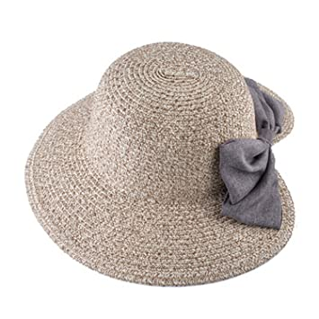Image Unavailable. Image not available for. Color  Sllxgli Hat female big round  face sun ... 7d14acb5a31d