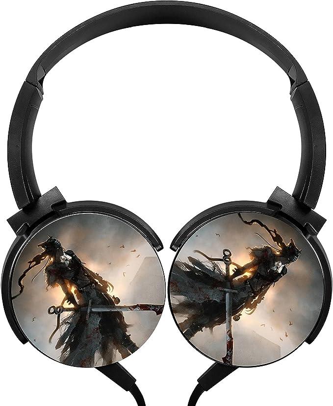 Hellblade Senua de Wired Auriculares estéreo Bass auriculares, nice, para juegos de PS4 Xbox One y PC, más de cancelación de ruido,: Amazon.es: Electrónica
