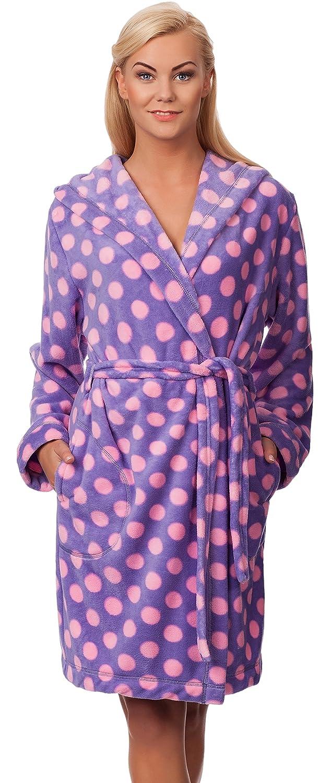 L& L Accappatoio Vestaglia Donna con Cappuccio LL0075