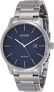 CITIZEN Mens Solar Powered Watch, Analog Display and Stainless Steel Strap - BM6960-56L