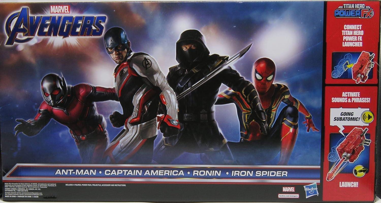 Marvel Avengers Titan Heroes Power FX Set of Four Action Figures