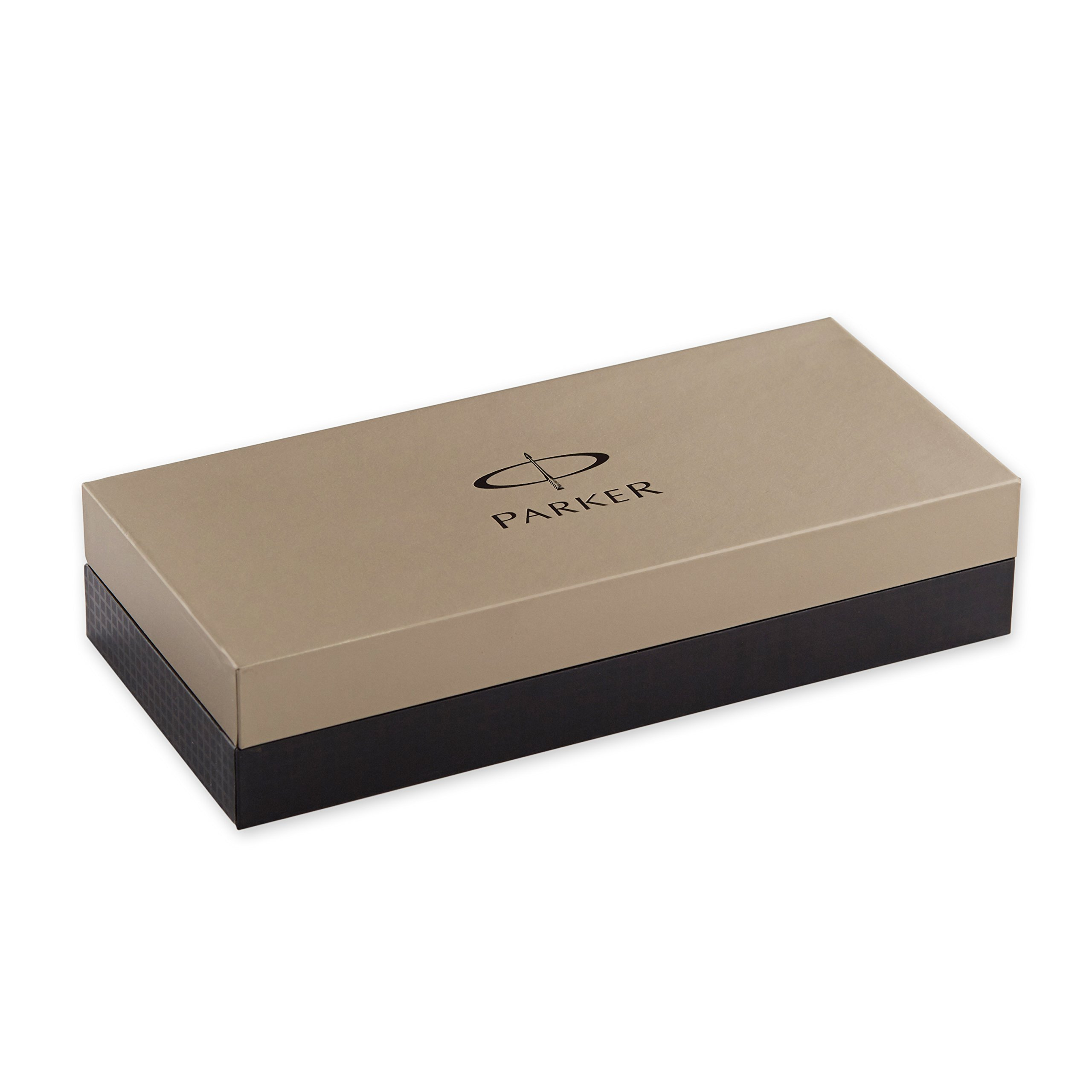Parker Matte Black Lacquer with Chrome Colour Trim, Rollerball Pen with Fine Black refill (S0818110) by Parker (Image #6)