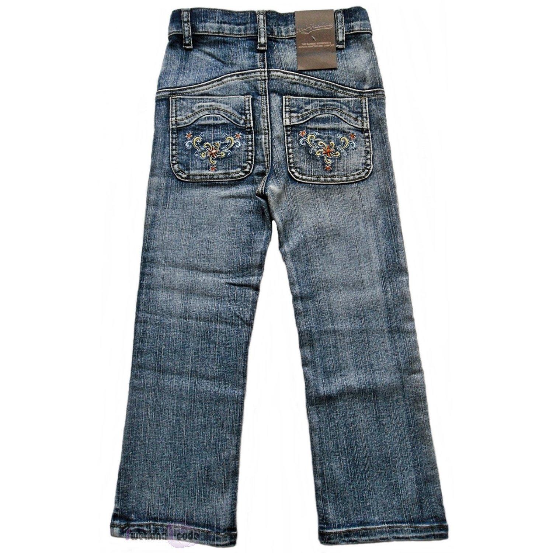 HW-conjuntos modernos niña Jeans se ajustan como bordados y ...