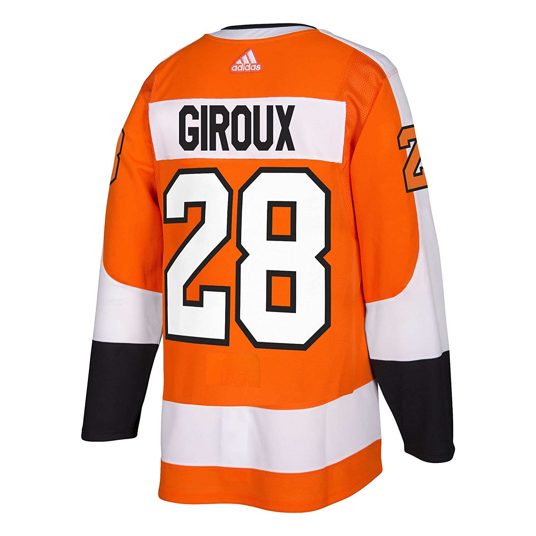 94c61c069 Amazon.com   adidas Claude Giroux Philadelphia Flyers Authentic Home NHL  Hockey Jersey   Sports   Outdoors