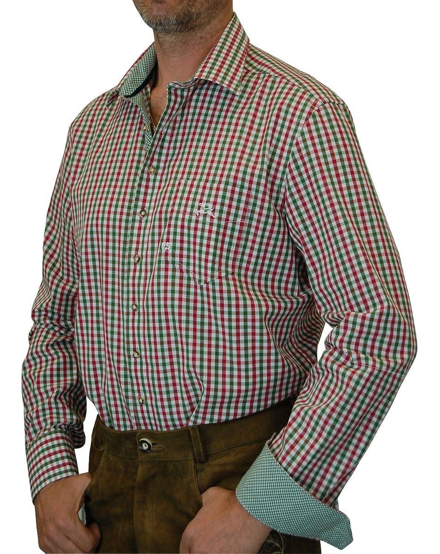 hochwertiges Orbis Bicolor Slim Line Trachtenhemd Bernd in verschiedenen Ausführungen