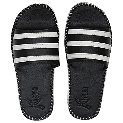 06d9c77ec463 Kraasa Men s Synthetic Slippers  Buy Online at Low Prices in India ...