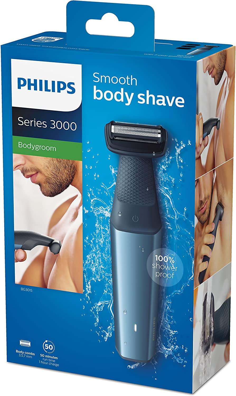 Afeitadora corporal Bodygroom Series 3000 de Philips, respetuoso ...