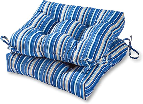 Greendale Home Fashions 20-inch Outdoor Chair Cushion