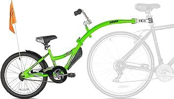 WeeRide 86457 Bicicleta Remolque Copilot, Niños, Verde, M ...