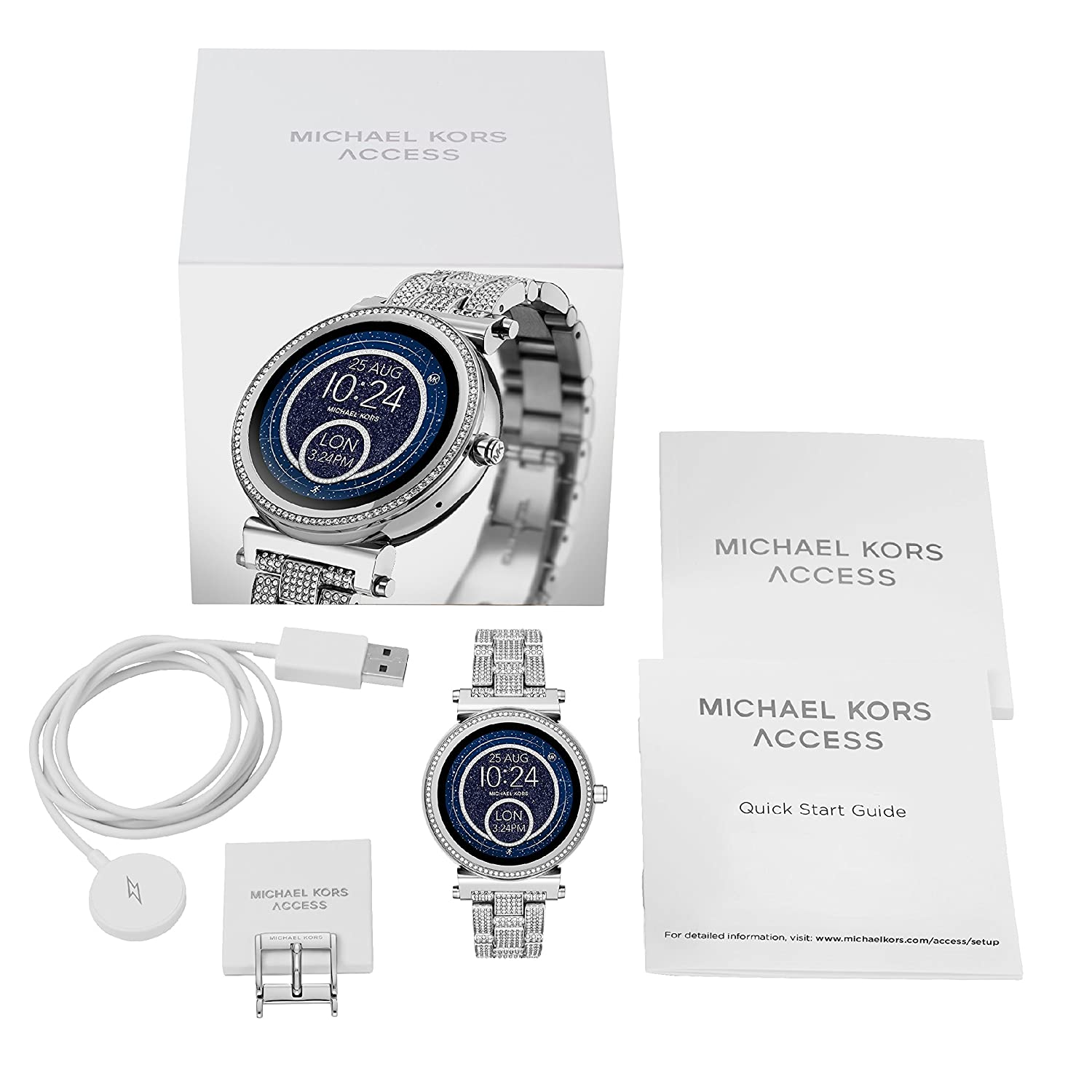 Amazon.com: MICHAEL KORS ACCESS WATCH SOFIE TOUCHSCREEN ...
