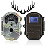 16MP Deer Camera - FAST Trigger Time Captures Every Move - Clear Photos & 1080p Video Day&Night - Camouflage Trail Camera Stays Hidden - 6 Month Battery Life - Weatherproof Game Camera