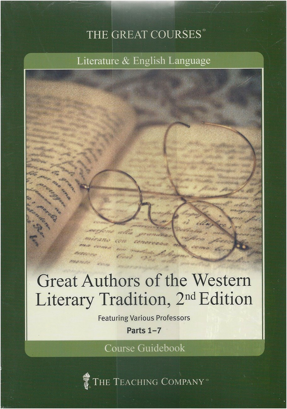Literature craft and voice 2nd edition - Great Authors Of The Western Literary Tradition 2nd Edition Complete 7 Part Series The Great Courses Literature English Language Ed Howe Amazon Com