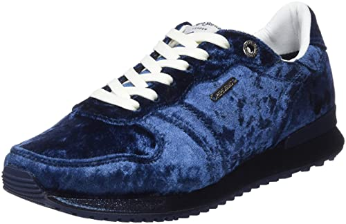 Pepe Jeans London Gable Velvet, Zapatillas para Mujer: Amazon.es: Zapatos y complementos
