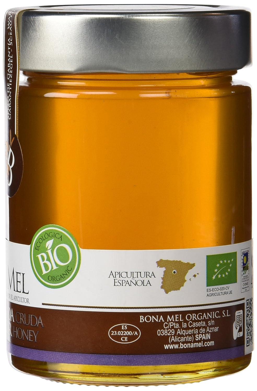 Bona Mel Miel de Lavanda - Paquete de 10 x 450 gr - Total: 4500 gr: Amazon.es: Alimentación y bebidas